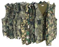 Camo Hunting Vests